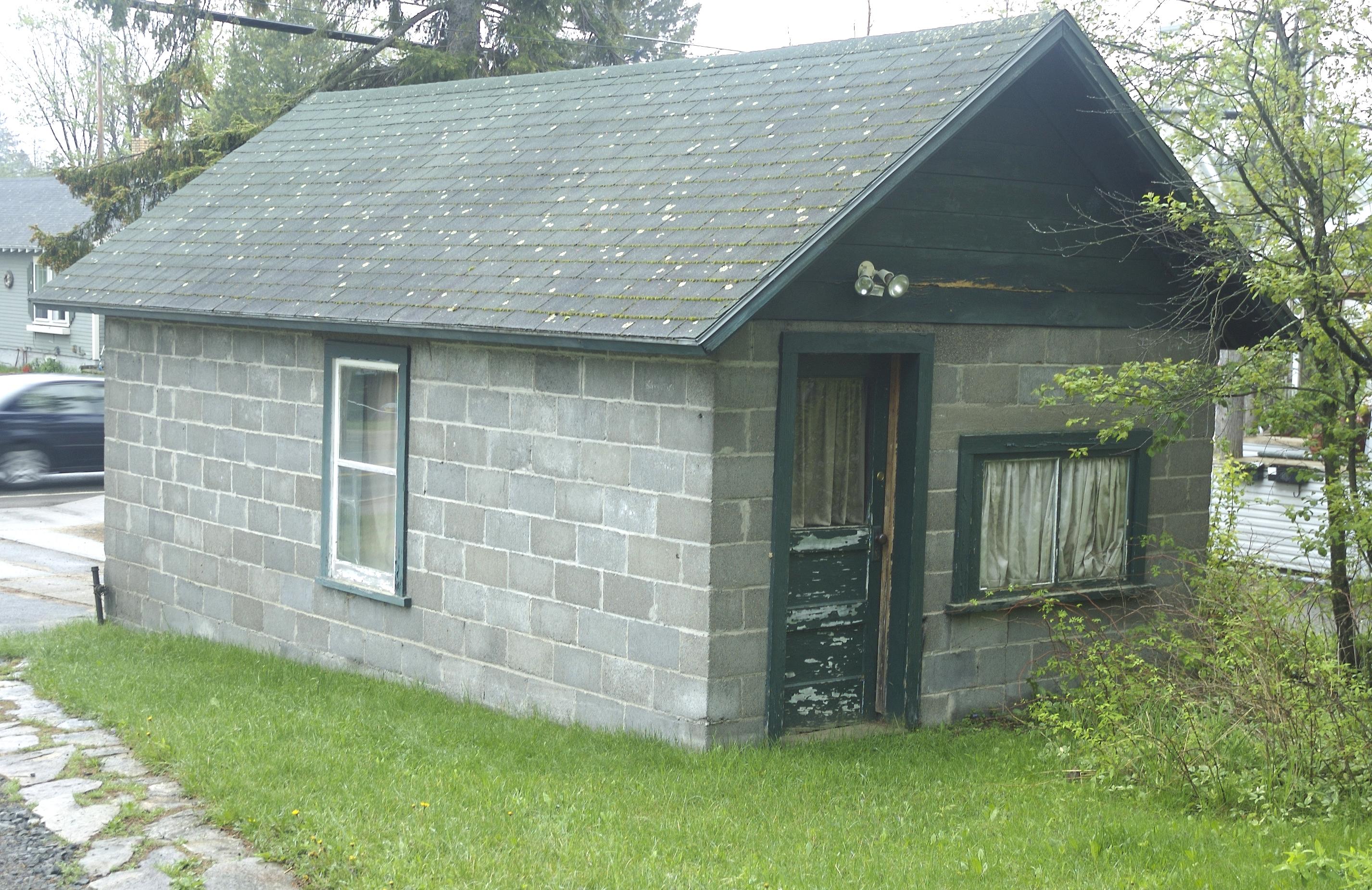 Garage External Renovation Go Cottage
