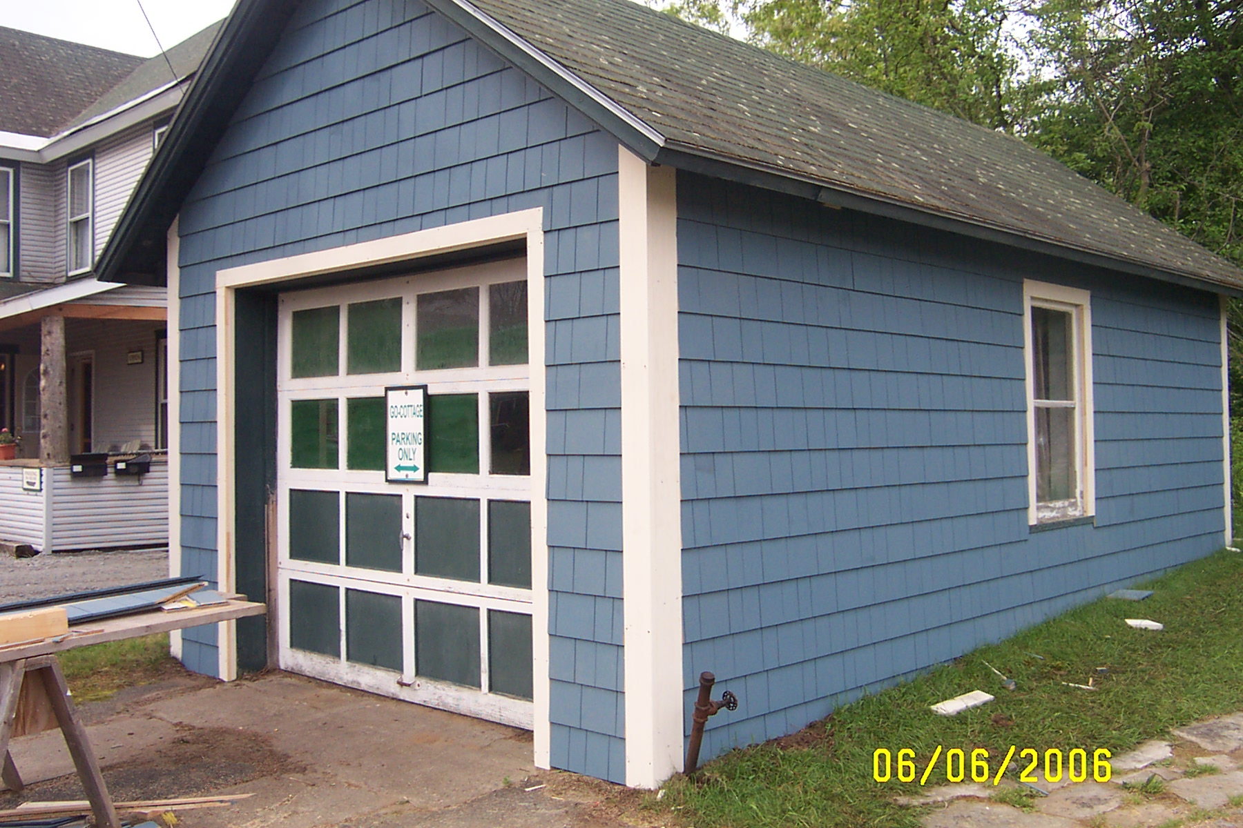 Garage External Renovation Go Cottage