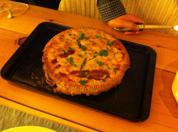 tasty turkey pie
